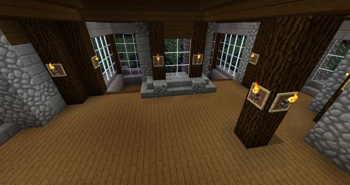 Spruce Mansion Minecraft Project