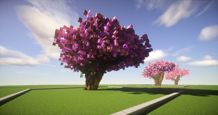 9 cherry tree cherry trees bundle 9 cherry trees minecraft project