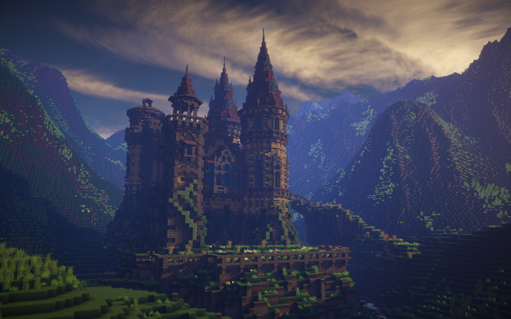 A Fairytale Castle Minecraft Project