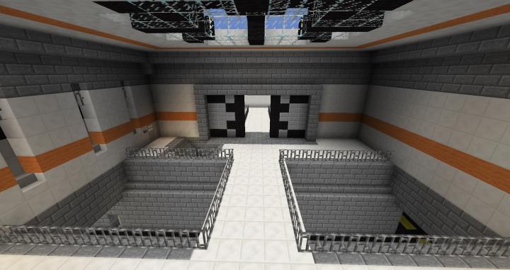 Upper level gate a exit