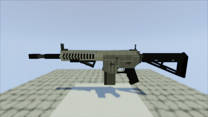 realistic machine guns