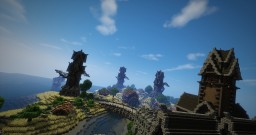 Aedonia a Medieval Village Minecraft Project