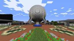 1990's EPCOT Center Recreation Minecraft