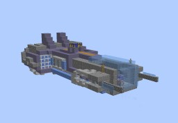 Voltaire-Class Gunship Minecraft Map & Project