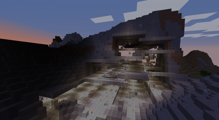Mountainside Mansion Minecraft Project