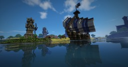 Aedonia a Medieval City Minecraft Map & Project