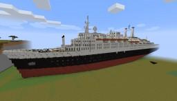 SS Rembrandt (SS Rotterdam 1958) Ocean liner Minecraft