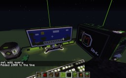 giant computer w/working led Minecraft Map & Project