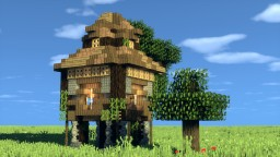 A Pigeonnier (Dovecote) Tutorial Minecraft