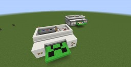 Printers Minecraft Map & Project