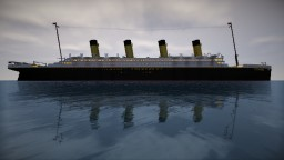 2:1 scale Titanic now with download. Minecraft Map & Project