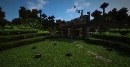 Medieval Cabin (Conquest Mod 1.9) Minecraft Project