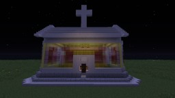 A Church in MC Minecraft Map & Project