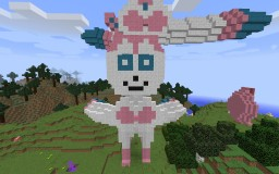 Pokemon 3D Art Minecraft Project