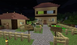 cute house Minecraft Map & Project