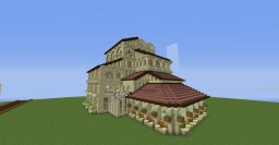 Sandstone Mansion full pack of screenies Minecraft