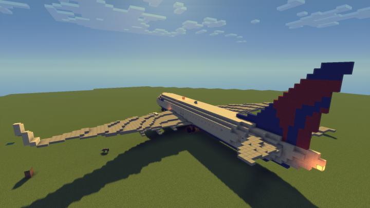 Delta Boeing 737 800 Minecraft Project