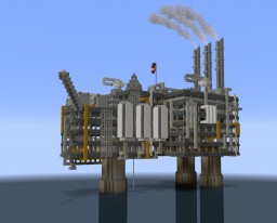 Offshore gas platform Minecraft Map & Project