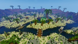 Tropical PVP - KitPVP Map Minecraft Map & Project
