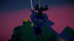 Floating island - Île volante Minecraft Map & Project