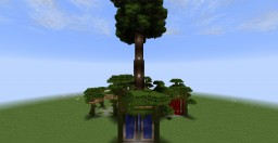 The Tree House of Archdruid zanezane [WIP] Minecraft Map & Project