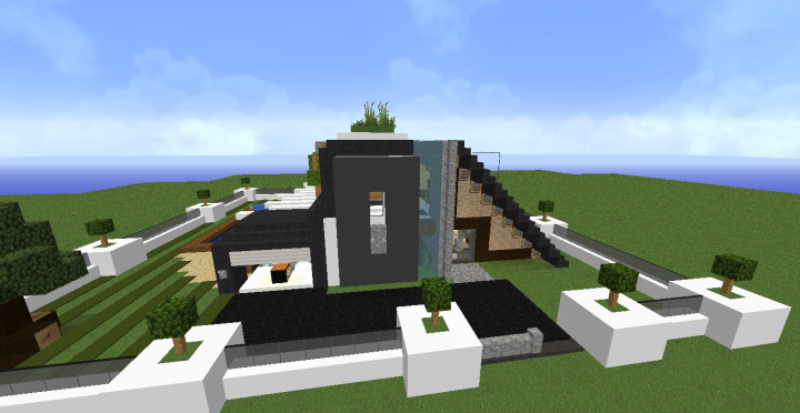 Petite Maison Moderne By Drkezako Minecraft Project