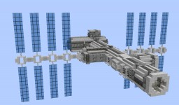 Small LEO Space Station | Space Minecraft Project
