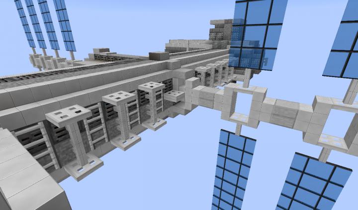Tether mounts on side for spacewalks