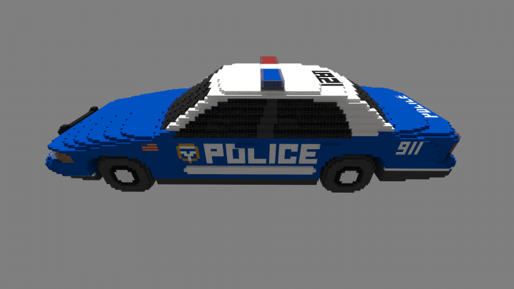how to make a cop car in minecraft