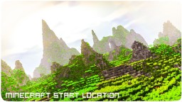 Starter Location in Mountains Minecraft Map & Project