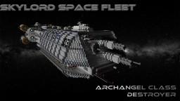 Archangel-Class Destroyer Minecraft Project