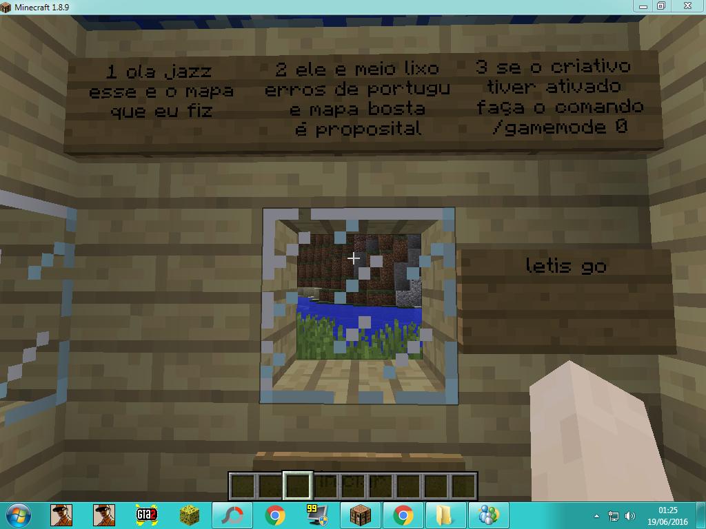 mapka adventure minecraft