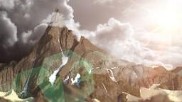 The Mountain/Desert test 1kby1k Minecraft