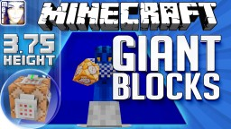 ☿ GIANT BLOCKS ANY COLOUR Minecraft Vanilla 1.8 1.9 Fancy Rooms or solid 3.75 tall | LapisDemon Meri Minecraft