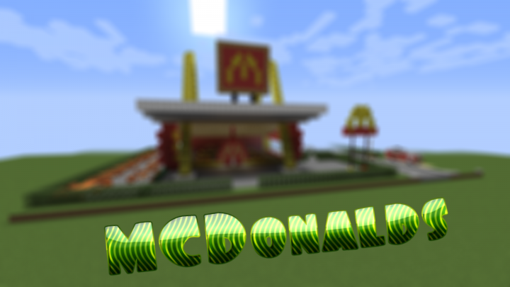 MCDonalds [MAP+SCHEMATIC] Minecraft Project on minecraft maze, minecraft enterprise blueprints, minecraft redstone schematics, minecraft schematics blueprints mob spawner, minecraft schematics and blueprints,