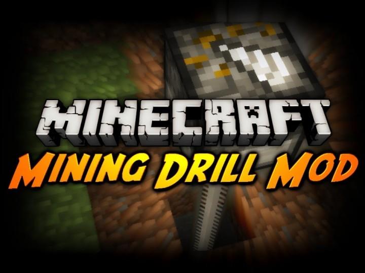 minecraft drill machine