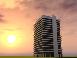 Modern Apartment Building #3 ~By:TheSkyRocket Minecraft