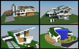 19 Awesome Modern houses :) Minecraft