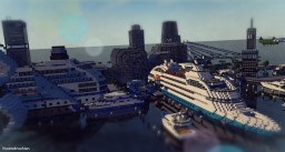 Al Noor Port | محطة النور Minecraft Map & Project