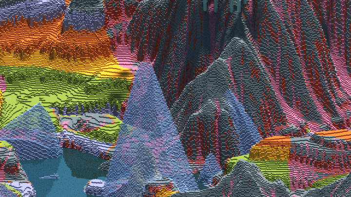 worldpainter multiple coverage colorization technics