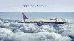 Delta Boeing 737-800 Minecraft