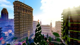 Traditional Skyscraper Tower Flatiron Building NY Inspired Minecraft Project