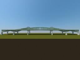 Hackensack/Passaic River styled Bridge // Brücke Minecraft