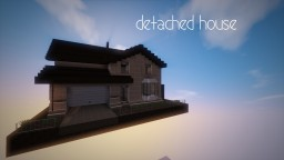 Detached house Minecraft Project