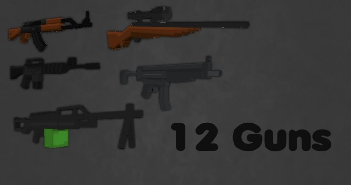Guns The Military Uses >> Warfare [3D Guns] [Military Themed] Minecraft Texture Pack