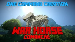 [1.10 Minecraft] One Command Creation - War Horse Minecraft Project
