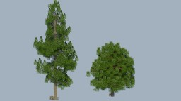 ( FREE DOWNLOAD ) TOP 2 Most Common Trees of USA Minecraft Map & Project