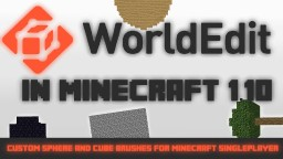 Worldedit in Minecraft 1.9-1.11 - Custom Worldedit brushes Minecraft Project