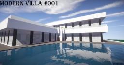 Modern Smart Villa  #001 by Losarro Minecraft Map & Project