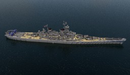 USS BB Missouri Minecraft